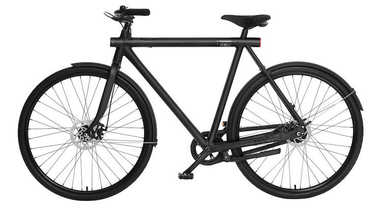 hippe fiets vanmoof smart bike