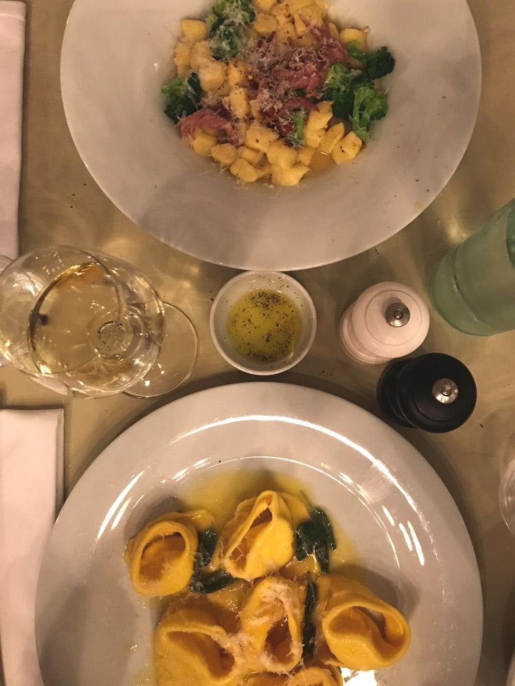 hippe restaurants pasta fresca