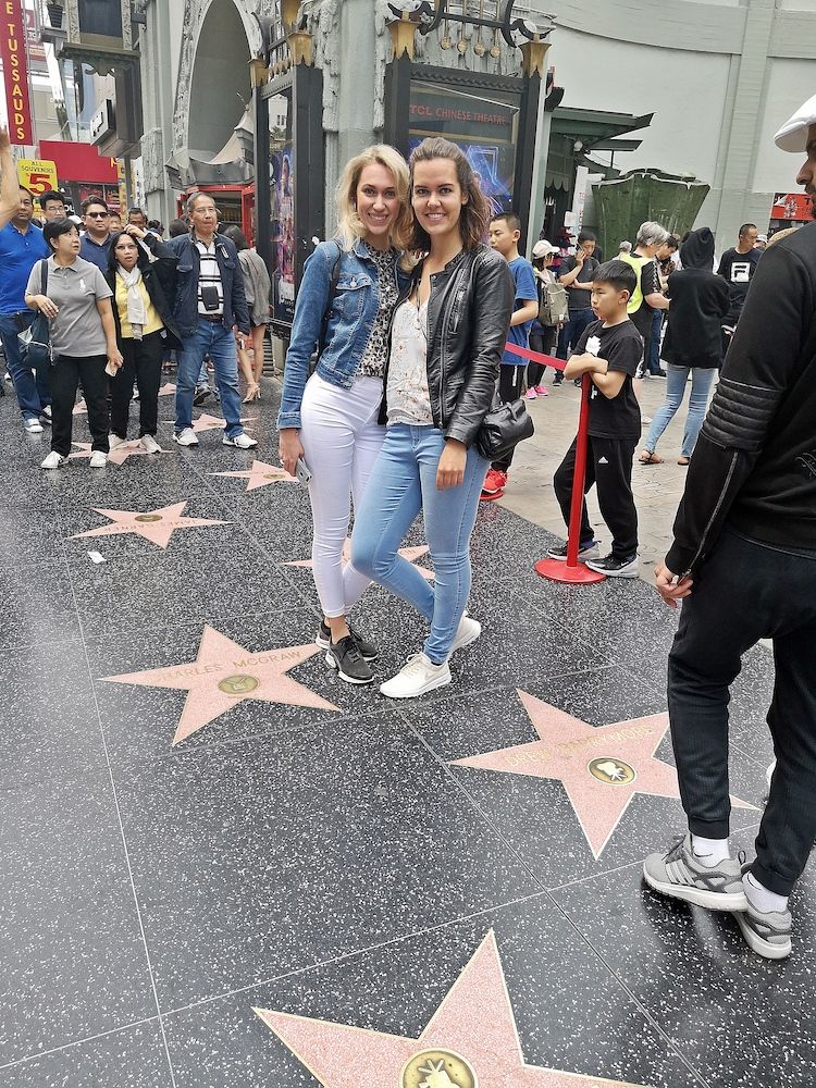 hollywood walk of fame los angeles fietstour