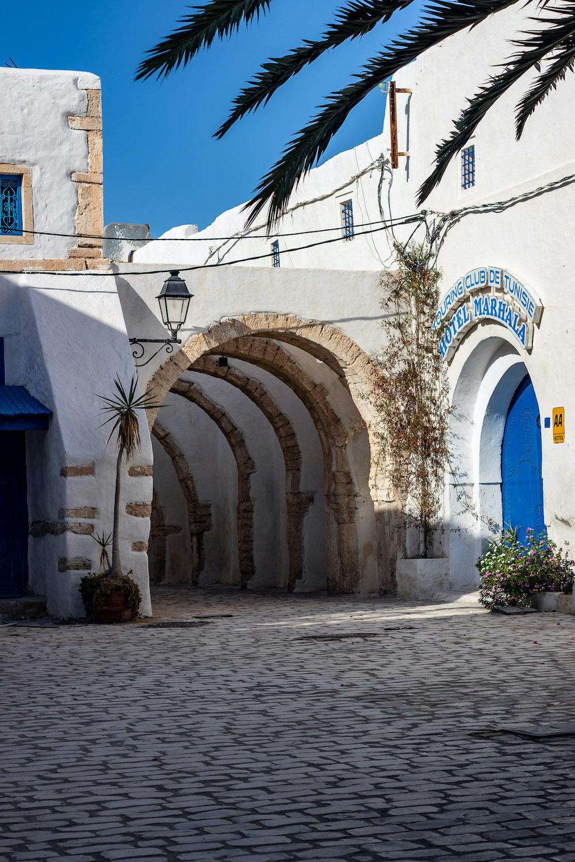 hoofdstad djerba tunesie straatjes