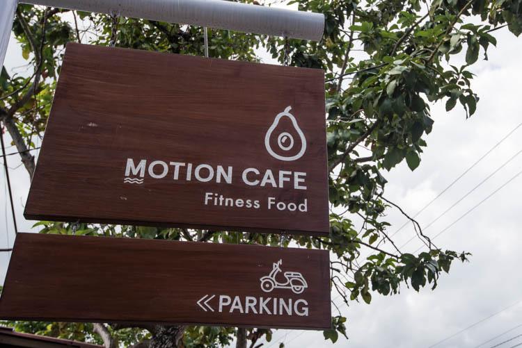 hotspots canggu met lekker eten motion cafe
