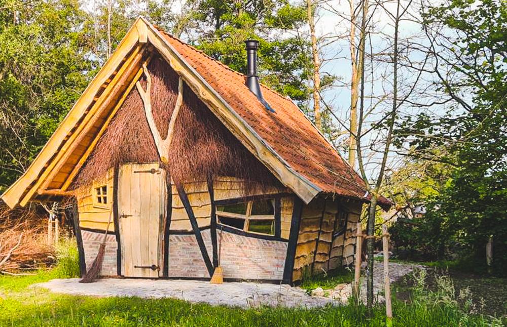 huisje met een open haard winterswijk