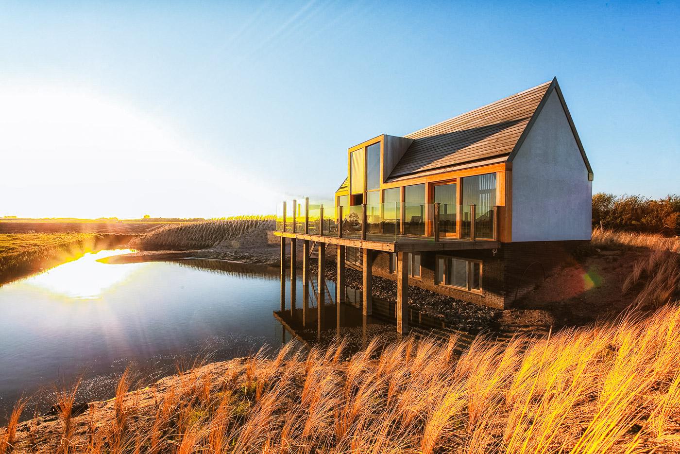 huisjes aan zee nederland