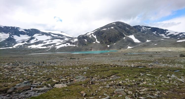 huttentocht noorwegen landschap