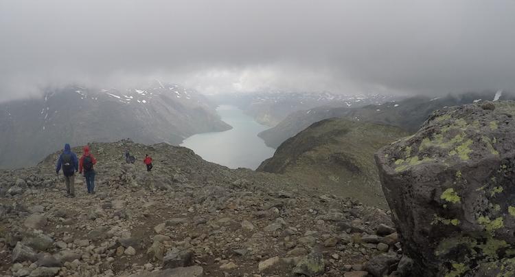 Huttentocht noorwegen slecht weer