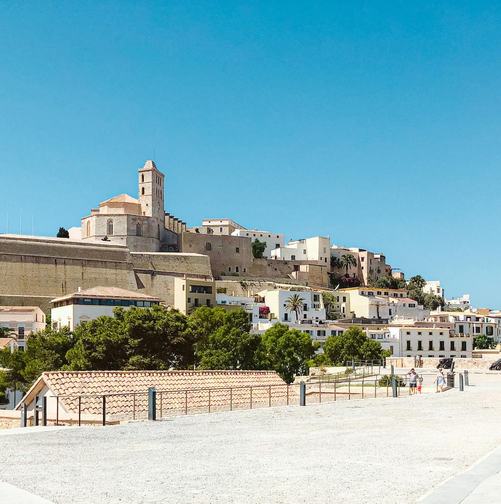 Ibiza-stad mooiste plek