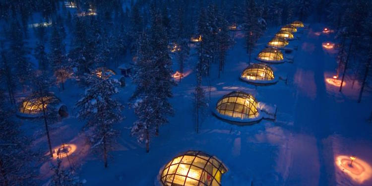 ijshotel finland iglo