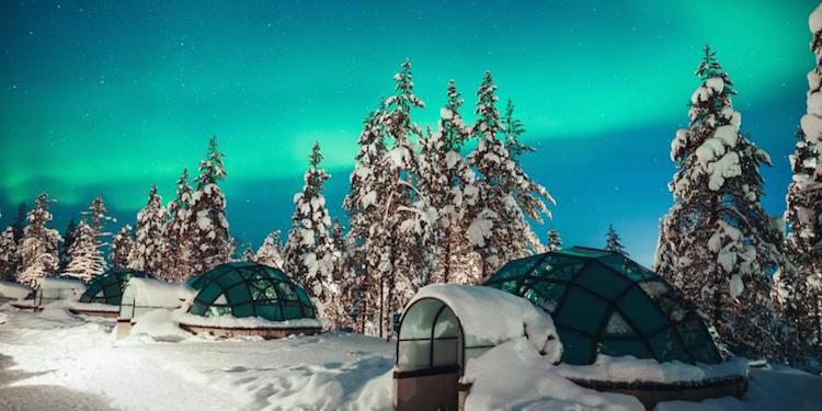 ijshotel finland noorderlicht