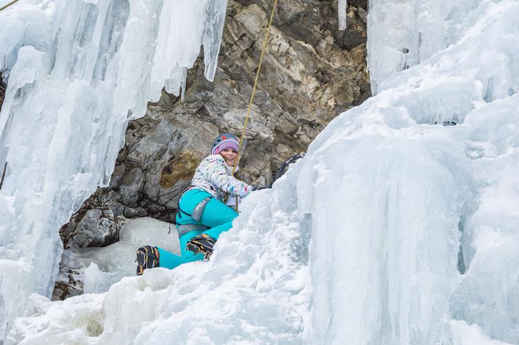 ijsklimmen oostenrijk Eispark