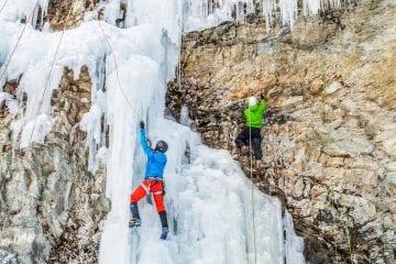 ijsklimmen tirol oostenrijk Eispark
