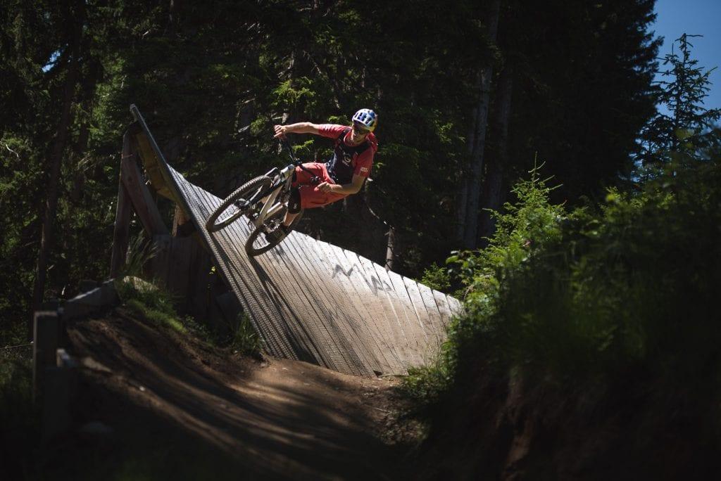 innsbruck bikepark mountainbike trail