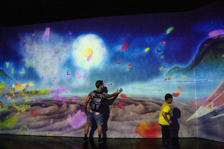interactief museum in singapore artscience