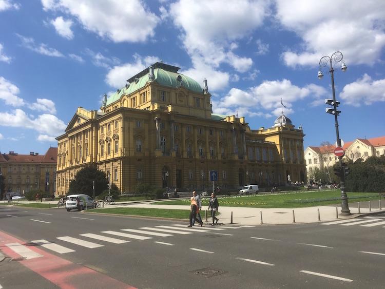 interrail kroatie zagreb bezienswaardigheden