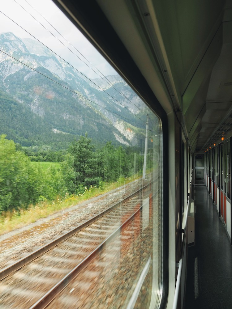 interrail reis naar duitsland
