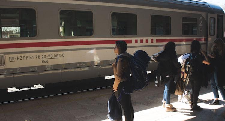 interrail slovenie treinen