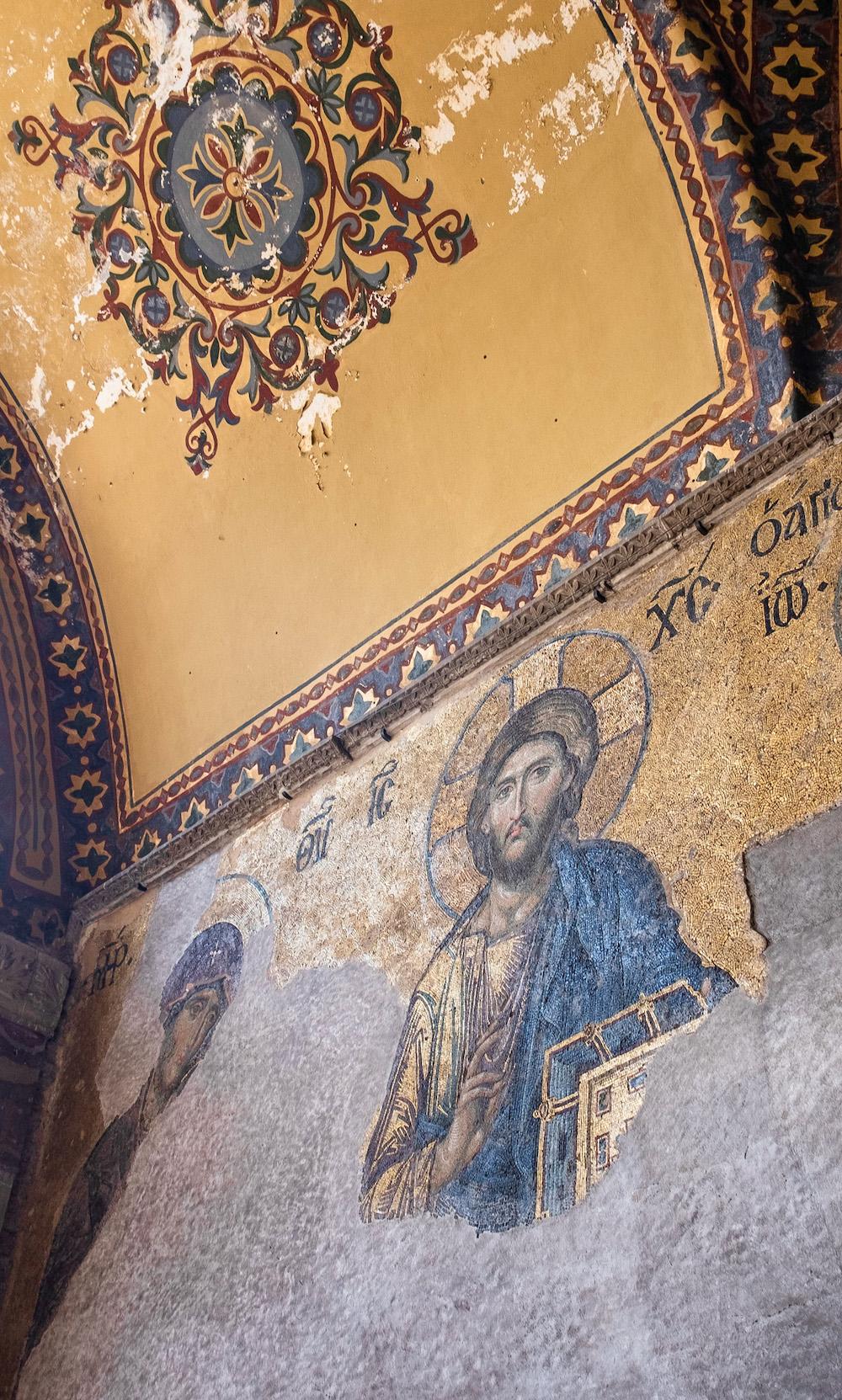 istanbul aya sophia details