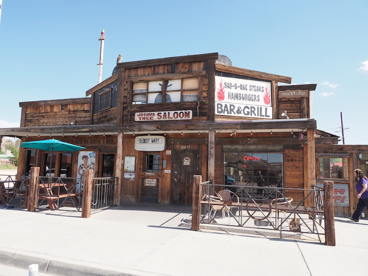 Joshua tree saloon tips