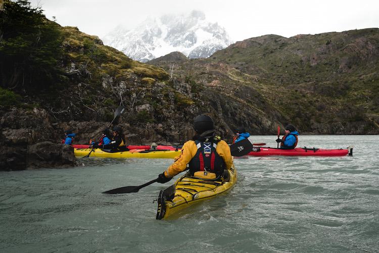 kajakken Torres del Paine patagonia