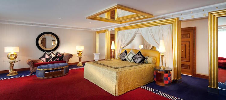 kamer zeven sterren hotel