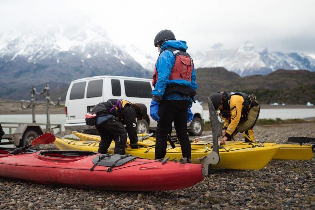 kayak patagonie reizen