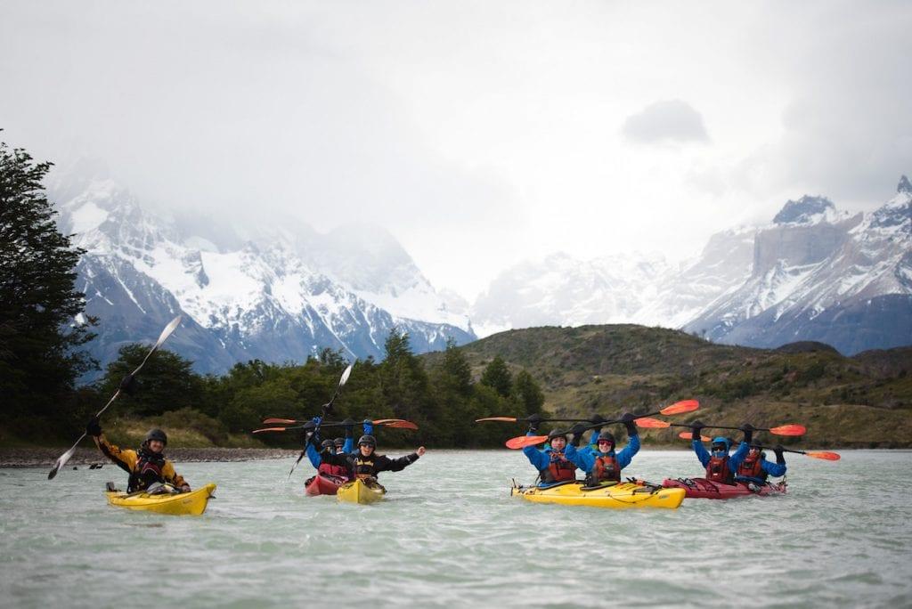 kayak patagonie backpacken