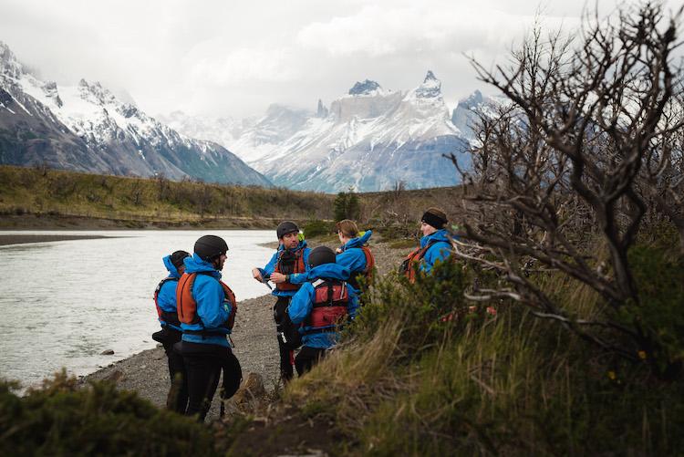 kayak_en_patagonia Torres del Paine