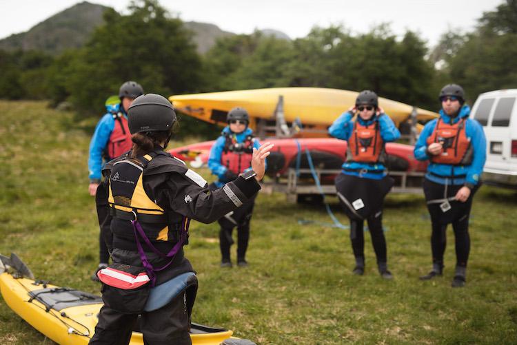 door patagonie reizen kayak