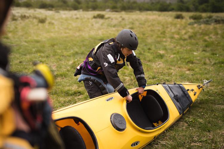 patagonie reizen kayak
