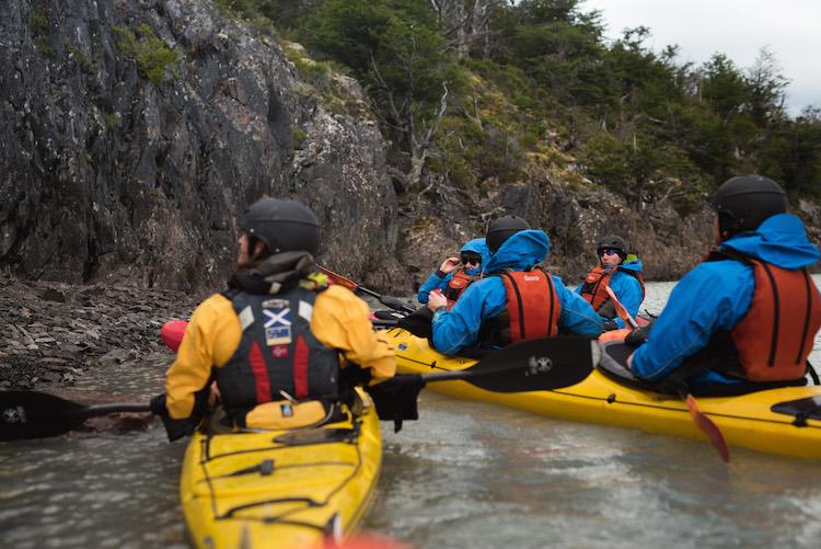 kayak Torres del Paine Patagonia