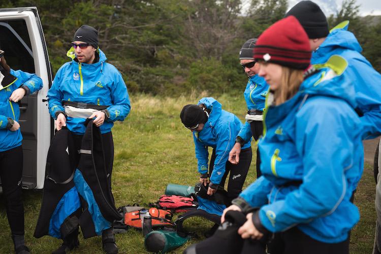 kayaken door patagonie reizen