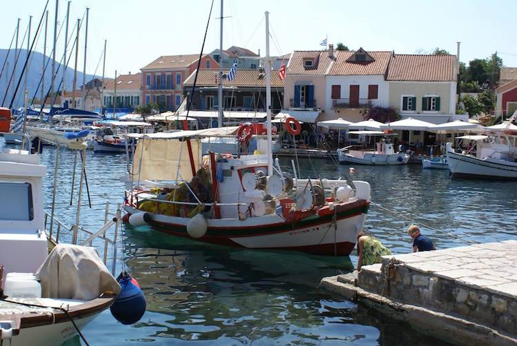 kefalonia-griekenland-vissers-haven