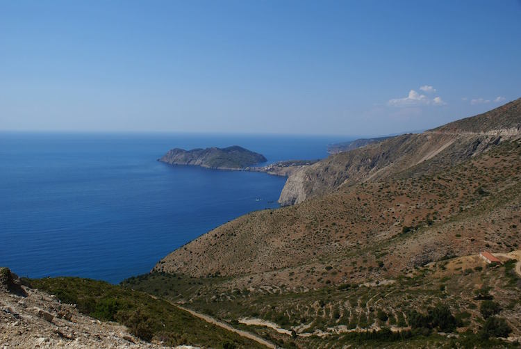 kefalonia-kustlijn-griekenland