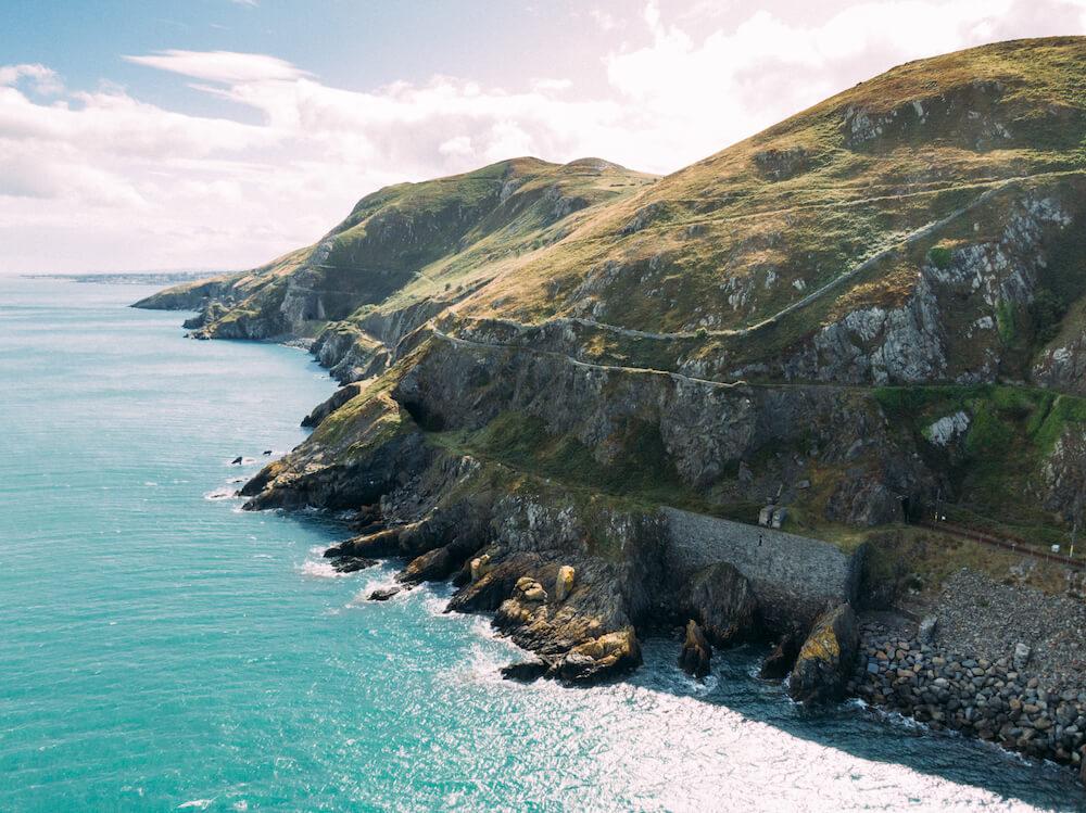 keltische kustroute ierland Bray Head, Wicklow