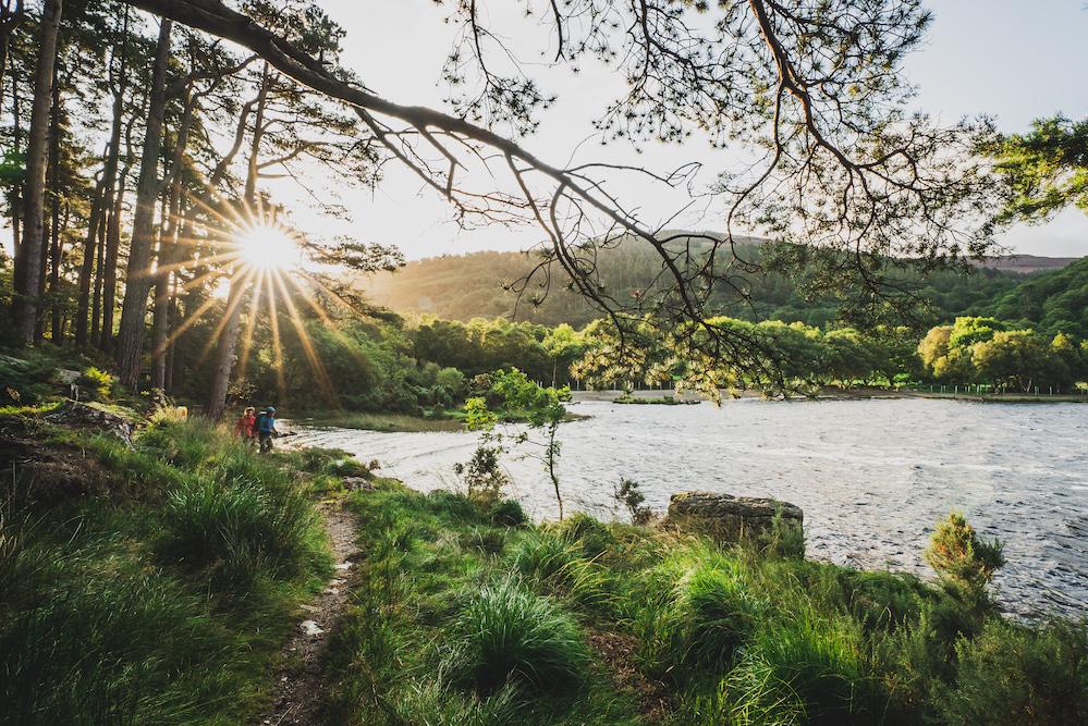 keltische kustroute ierland Glendalough, Wicklow