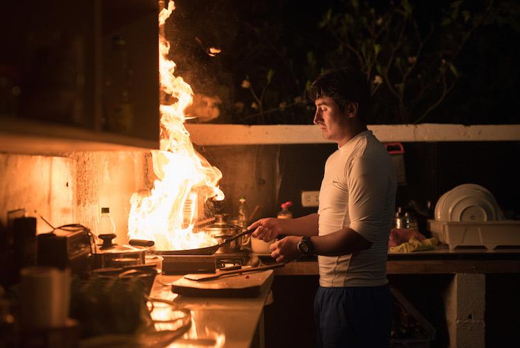 keuken in de jungle