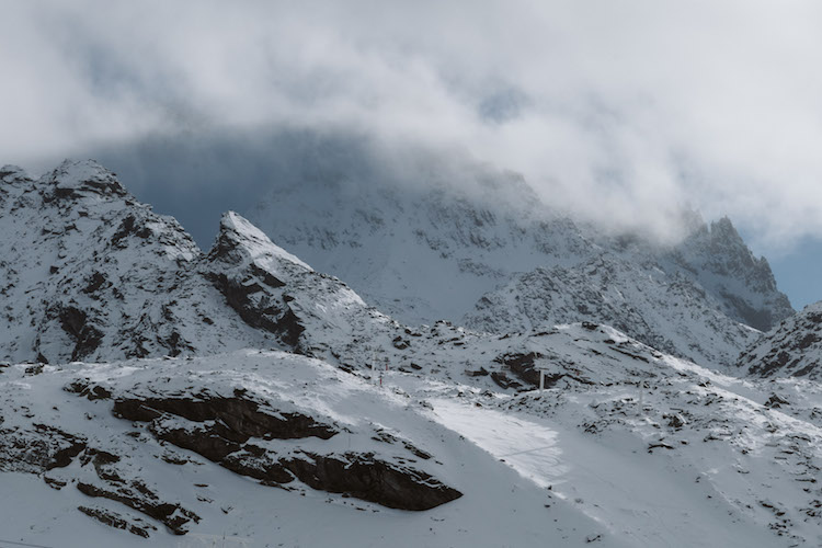 kick off val_thorens view sneeuwzekerheid