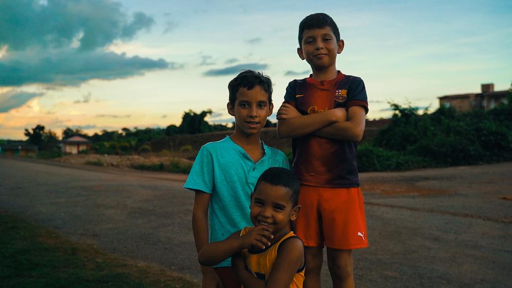 kids in cuba
