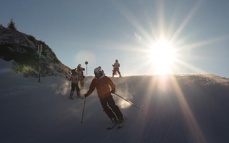 kirchberg skien piste
