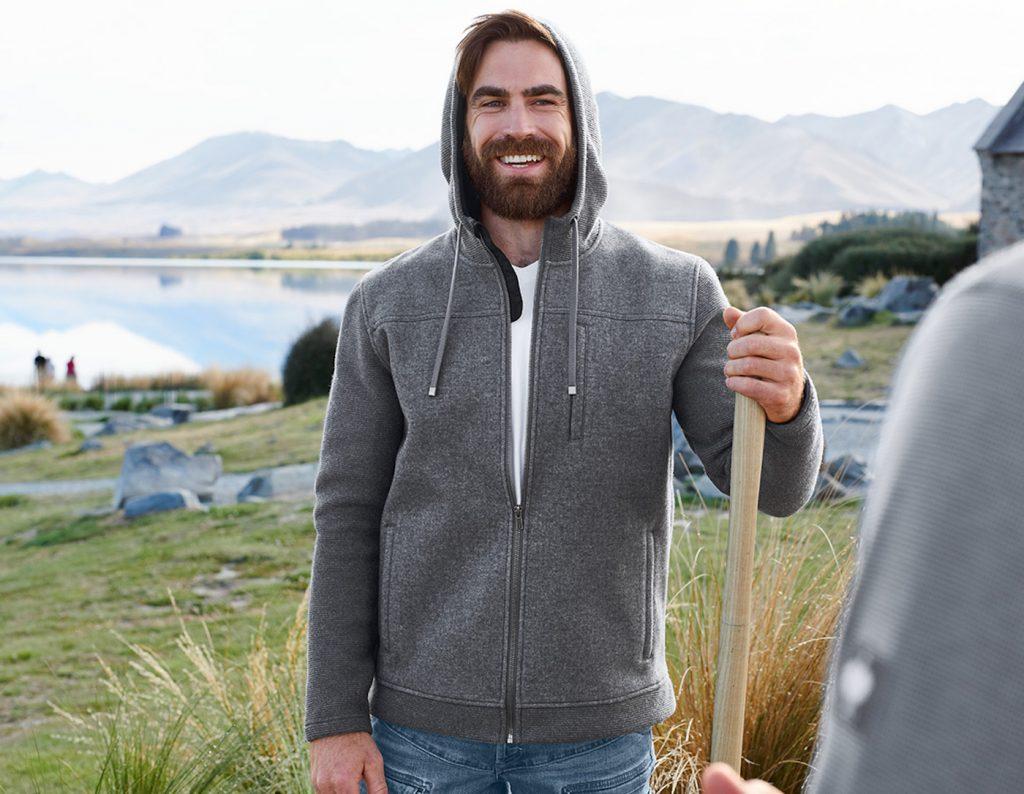 kleding voor extreme kou loden fleecevest