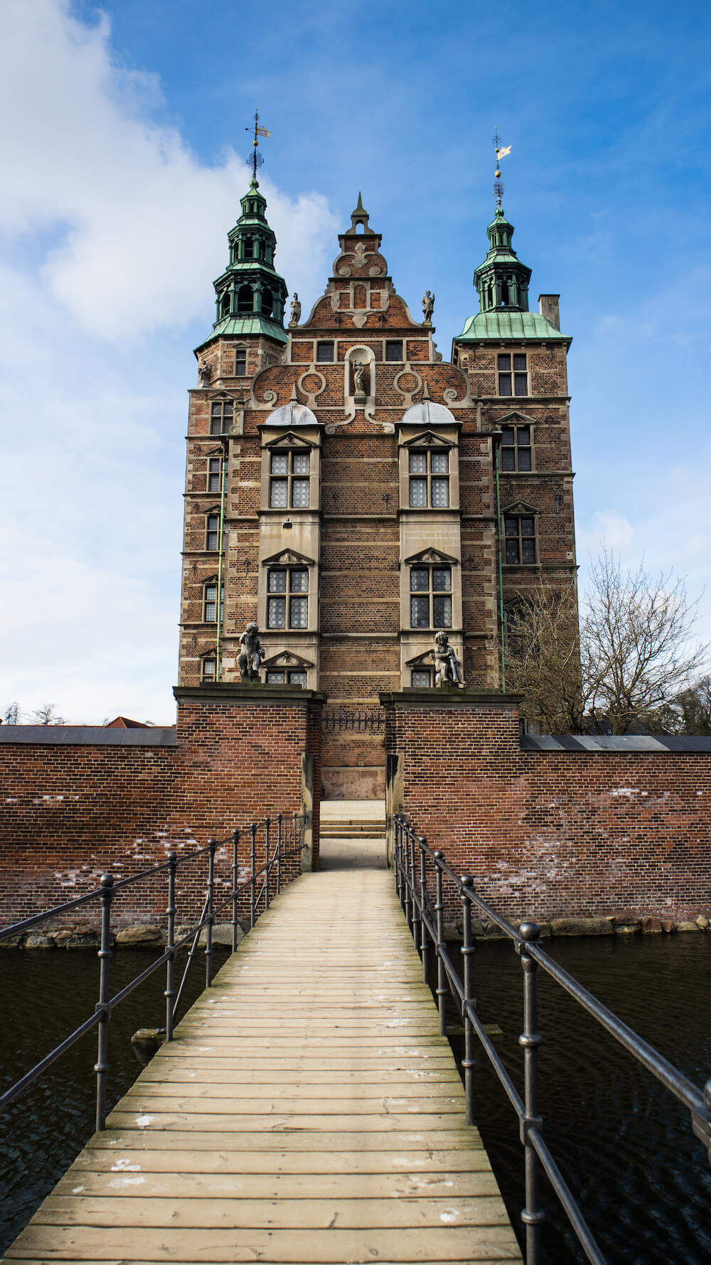 kopenhagen winter Rosenborg Slot