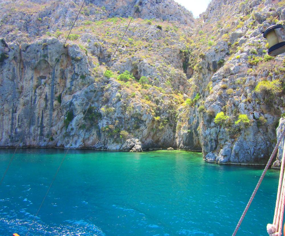 kos vakantie zwemmen baai