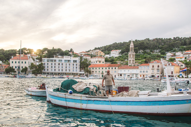 kroatie eilandhoppen Hvar haven