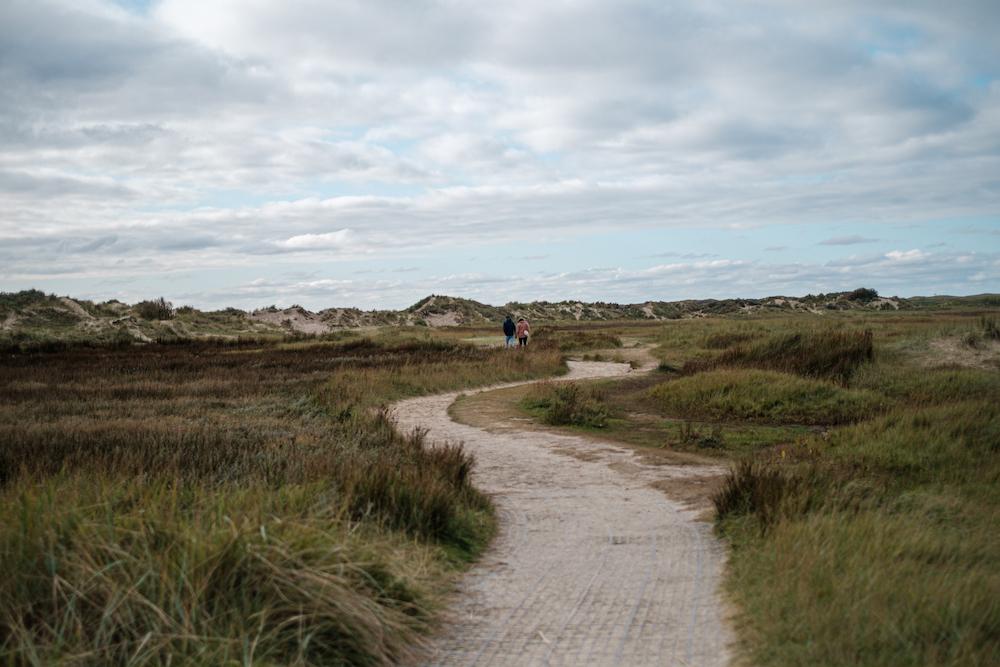 kronkelende paden texel wandeling