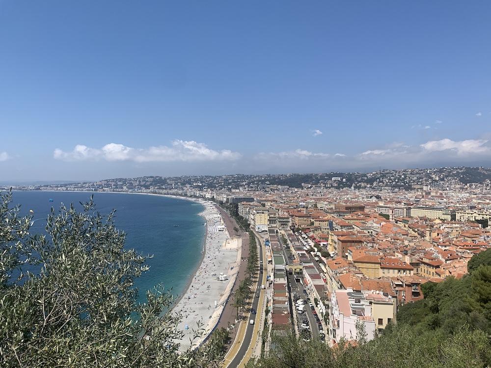 kustlijn van Nice stedentrip