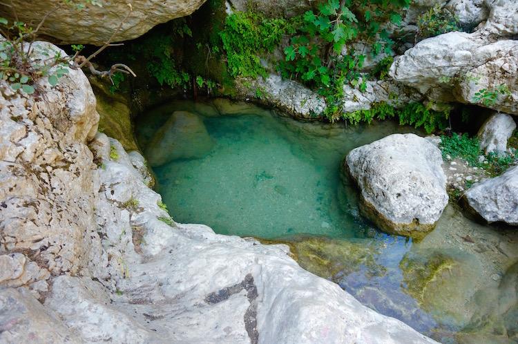 lefkas vakantie tips hartvormige Waterval