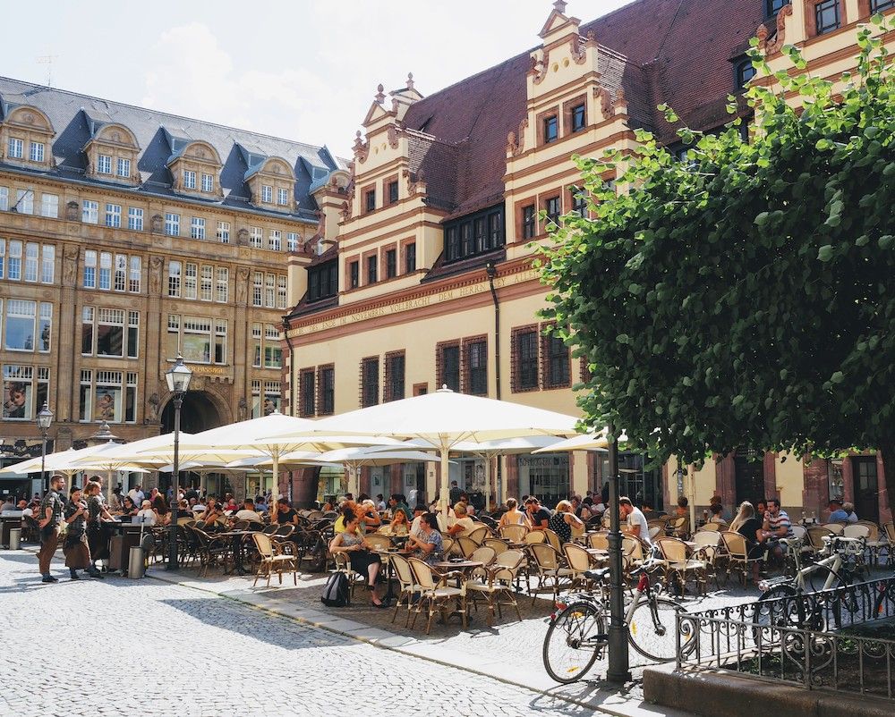 Leipzig stedentrip centrum