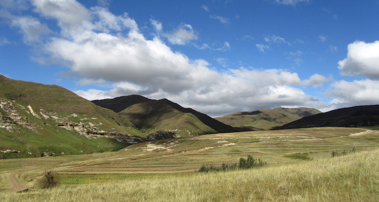 lesotho landschap tour reizen