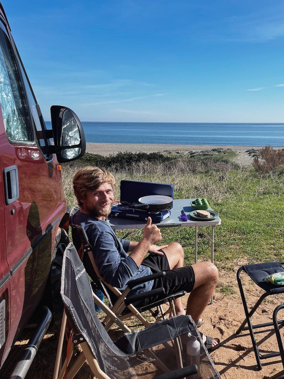leven in een camper koken