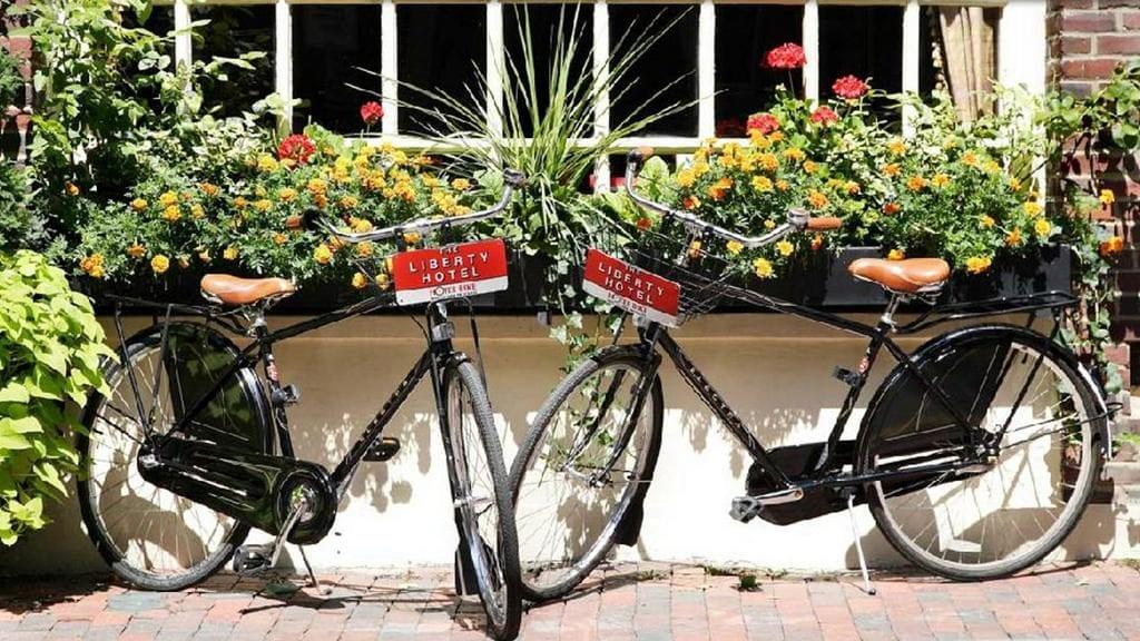 liberty hotel gevangenis hotel boston fietsen