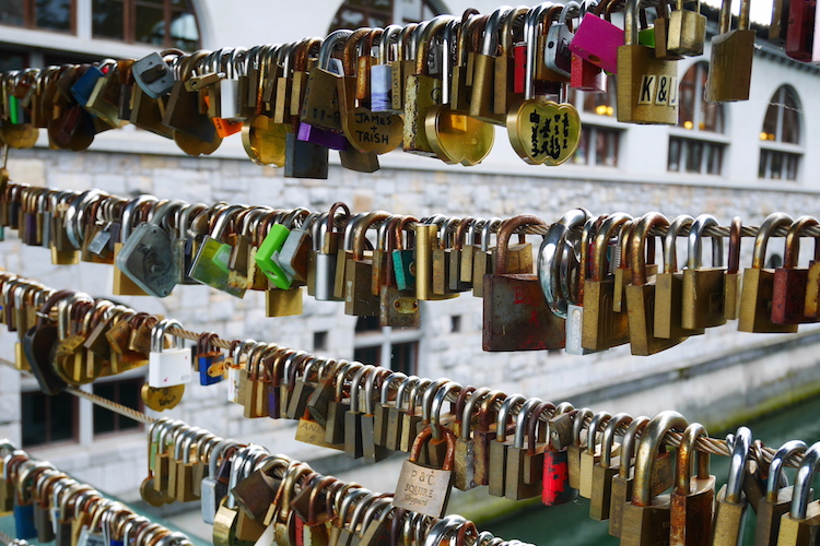 liefdesbrug ljubljana stedentrip tips citytrip slovenie